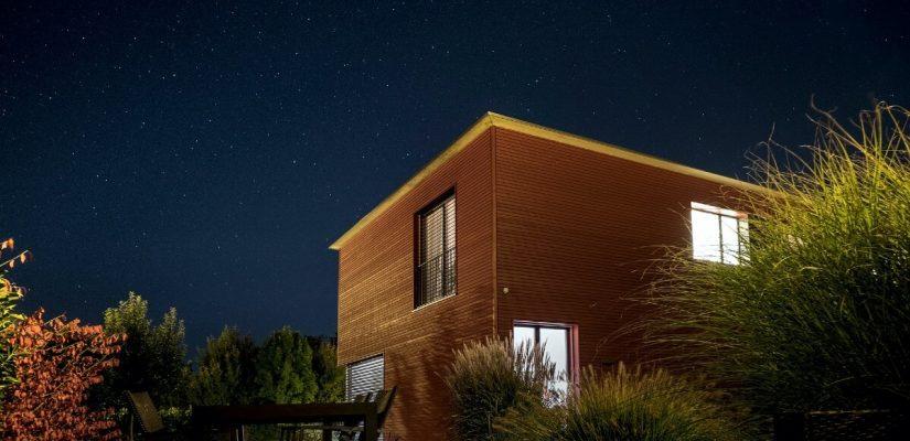 Drvena montažna kućica